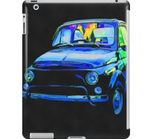 Fiat 500 Pop Art iPad Case/Skin