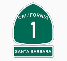 PCH - CA Highway 1 - Santa Barbara Unisex T-Shirt