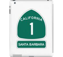 PCH - CA Highway 1 - Santa Barbara iPad Case/Skin