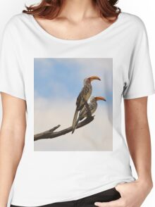 Yellow Billed Hornbill - Beak of Format Women's Relaxed Fit T-Shirt