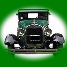 Model A Ford Car by Dawnsuzanne