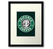 Triforce Coffee Framed Print
