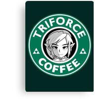 Triforce Coffee Canvas Print