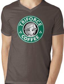 Triforce Coffee Mens V-Neck T-Shirt
