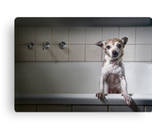 Bath Time's Over Canvas Print