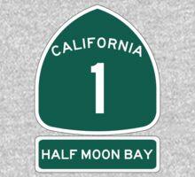 PCH - CA Highway 1 - Half Moon Bay Baby Tee