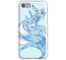 Ice Kitsune iPhone Case/Skin