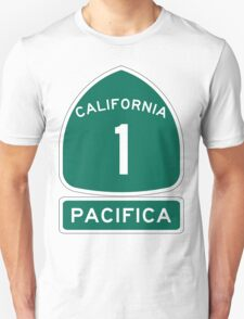 PCH - CA Highway 1 - Pacifica T-Shirt