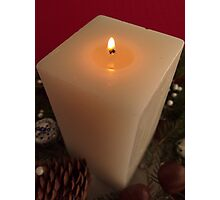 Candle Photographic Print