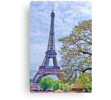 A symbolic tower Canvas Print