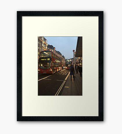 Buses Framed Print