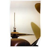 Drum Kit And Sofa Poster