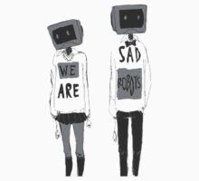 The Sad Robots by KingKono