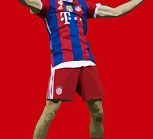 Thomas Muller - Minimalist  by MisterJfro