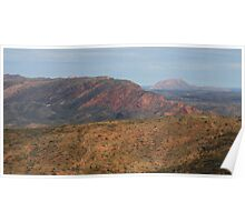 Colours of East MacDonnell Ranges Poster
