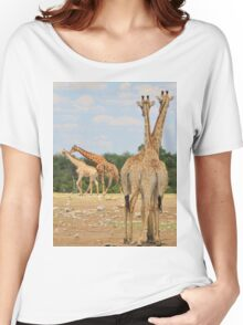 Giraffe - Jealousy and Funny Love Women's Relaxed Fit T-Shirt
