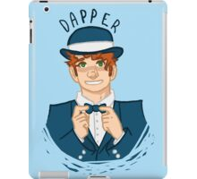 Dapper iPad Case/Skin