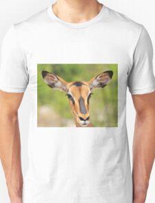 Black Faced Impala - Portrait of Pure Unisex T-Shirt