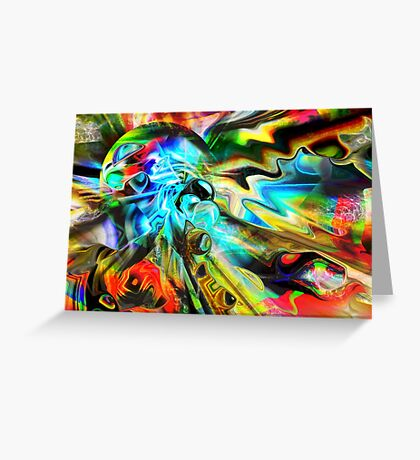 Colors Out of Space Greeting Card