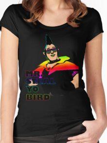 Mr. Steal-Yo-Bird Women's Fitted Scoop T-Shirt