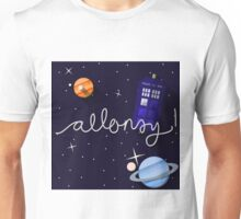 Madman With A Box; Doctor Who Illustration Unisex T-Shirt