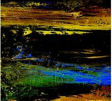Abstraktes Bild 33 Photographic Print