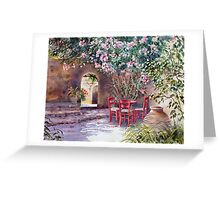 Under the Oleander Tree Greeting Card