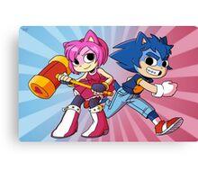 Sonic Pilgrim and Amy Flowers Canvas Print