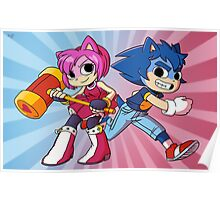 Sonic Pilgrim and Amy Flowers Poster