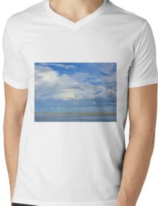 Blue Tranquility - Journey through Color Mens V-Neck T-Shirt