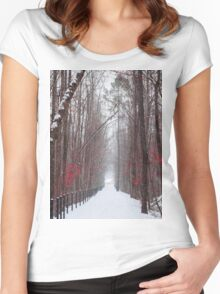 Beautiful Pinks Women's Fitted Scoop T-Shirt