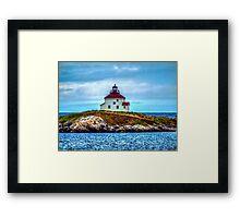 Queensport Lighthouse Framed Print