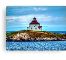 Queensport Lighthouse Canvas Print