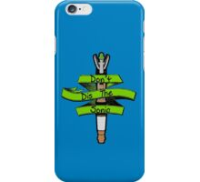 Don't Dis the Sonic - Doctor Who iPhone Case/Skin