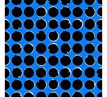 Blue eclipse Photographic Print
