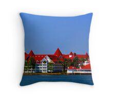 Disney's Grand Floridian Resort & Spa Throw Pillow