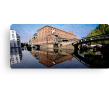 Regents Canal Canvas Print