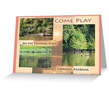 play on the Tennessee Greeting Card