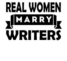 Real Women Marry Writers Photographic Print