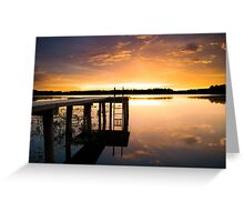 Beauty by the Dock Greeting Card