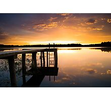 Beauty by the Dock Photographic Print