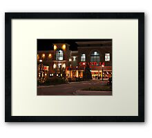 Going to the Movies Framed Print