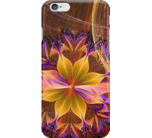 Out Among the Flowers iPhone Case/Skin