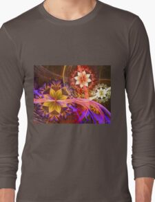 Out Among the Flowers Long Sleeve T-Shirt