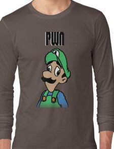 Mama Luigi Long Sleeve T-Shirt