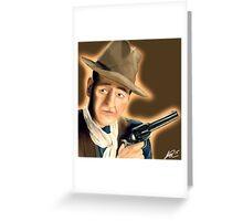 John wayne painting  Greeting Card