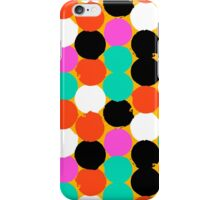 Colorful circles pattern iPhone Case/Skin