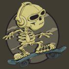 Boric Skateboarding by gregure