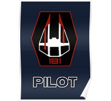 Star Wars Unit Insignia - 181st Fighter Group Poster