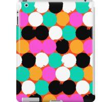 Colorful circles print iPad Case/Skin
